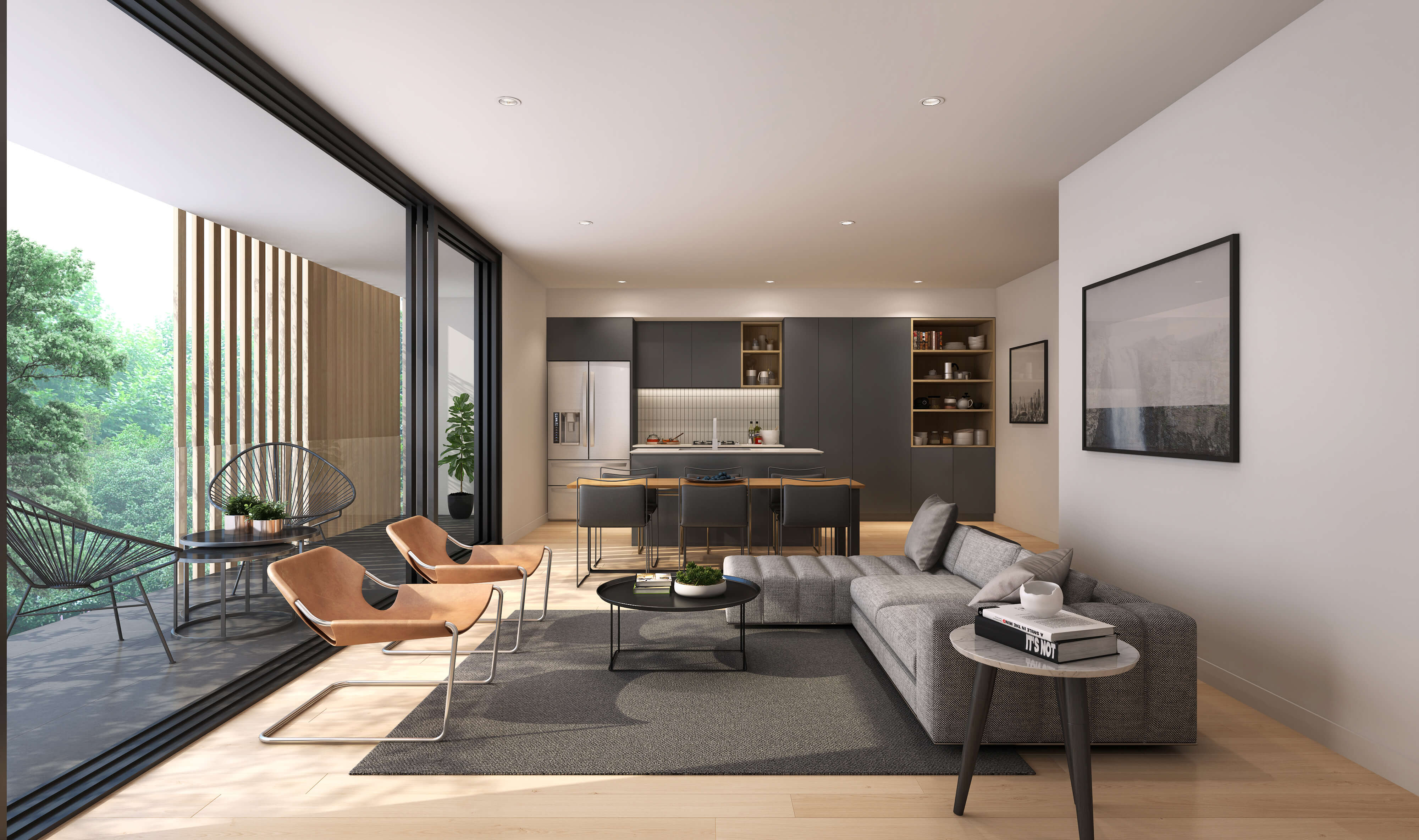 kitchen and living area_third avenue