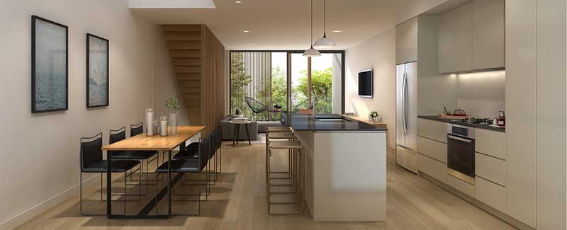kitchen area view_third avenue